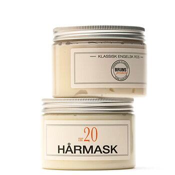 Nr 22 HÅRMASK VARM BERGAMOTT - Bruns Products