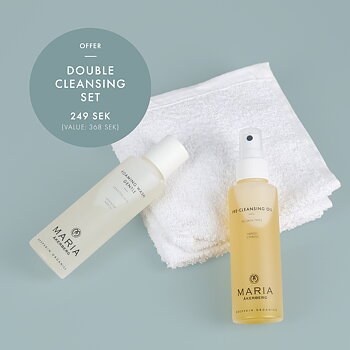 Double cleansing set kampanj - MARIA ÅKERBERG