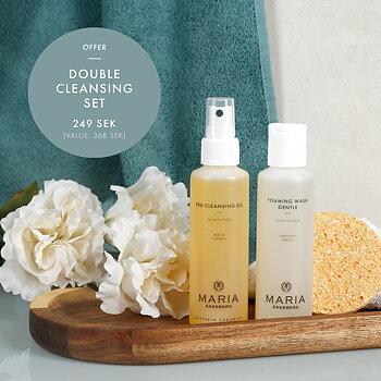 Double cleansing set kampanj - MARIA ÅKERBERG