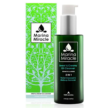 Sweet & Creamy oil cleanser - Marina Miracle