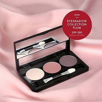 Eyeshadow collection Plum - Limited edition MARIA ÅKERBERG