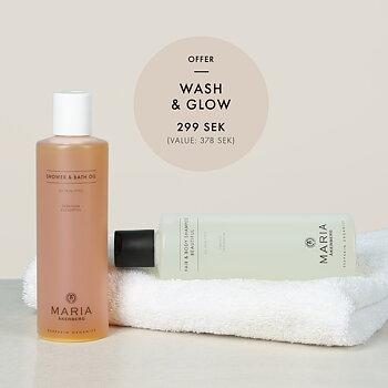 Wash & Glow Kampanj - MARIA ÅKERBERG