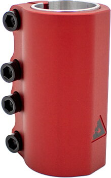 Trynyty Simple SCS Kickbike Clamp -  Färg: Röd