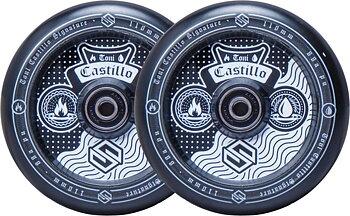 Striker Toni Castillo Sparkcykel Hjul 2-Pack -  Färg: Svart - Storlek: 110mm