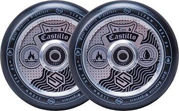 Striker Toni Castillo Sparkcykel Hjul 2-Pack -  Färg: Raw & Black - Storlek: 110mm