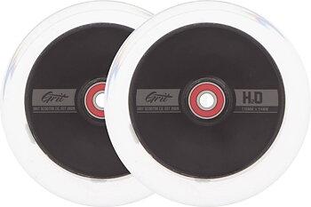 Grit H2O Sparkcykel hjul 2-Pack -  Färg: Clear/Black