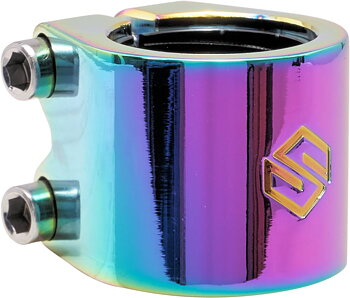 Striker Lux Double Kickbike Clamp -  Färg: Rainbow