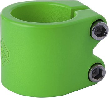 Striker Lux Double Kickbike Clamp -  Färg: Lime