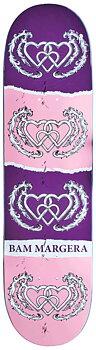 """Heart Supply Bam Margera Skateboard Bräda -  Färg: Three Hearts - Storlek: 8.25"""""""
