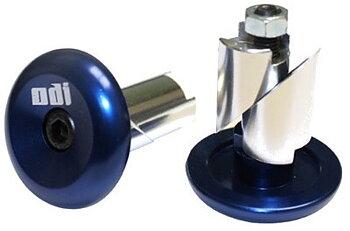 ODI Aluminum Bar Ends -  Färg: Blå