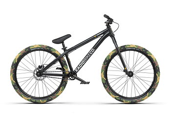 "Radio Minotaur 26"" 2021 Dirt Jump MTB Bike Färg: Matt Black"