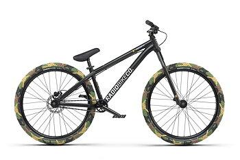 "Radio Minotaur 26"" 2021 Dirt Jump MTB Bike Färg: Matt Black"