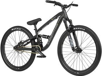 "Radio Siren 26"" 2021 Dirt Jump MTB Bike Färg: Matt Black"