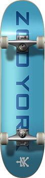 """Zoo York Logo Block Komplett Skateboard -  Färg: Blå/Vit - Storlek: 8"""""""