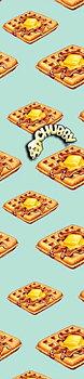 Chubby Waffle Kickbike Griptape