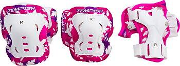 Tempish FID Skyddsset Barn 3-pack -  Färg: Rosa - Storlek: XS
