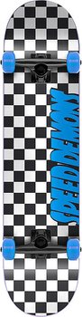 Speed Demons Checkers Komplett Skateboard Färg: Checkers Blue Storlek: 7.25""