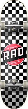 """RAD Checkers Komplett Skateboard Färg: Checkers Black Storlek: 8"""""""