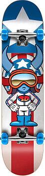 "Speed Demons Characters Komplett Skateboard Färg: Stars Storlek: 7.25"""