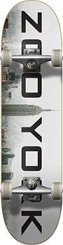 """Zoo York Logo Block Komplett Skateboard Färg: Fog Storlek: 7.75"""""""