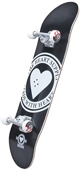 Heart Supply Logo Komplett Skateboard Färg: Badge Storlek: 7.75""
