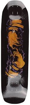 """Rayne Darkside V3 Longboard Deck -  Färg: Svart/Orange/Lila - Längd: 36"""""""