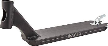 "Apex 5"" Peg Cut Sparkcykel Deck Färg: Svart"