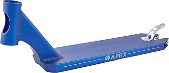 "Apex 5"" Peg Cut Sparkcykel Deck Färg: Blå"
