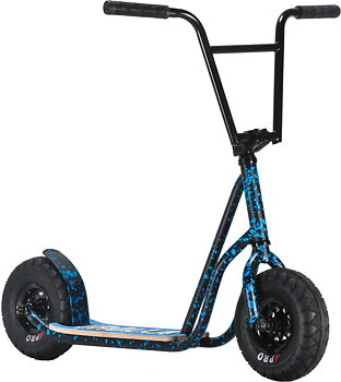 Rocker Rolla Big Wheel Scooter -  Färg: Blue Splatter