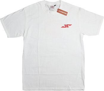 JP Logo Skate T-Shirt -  Färg: Vit - Storlek: L