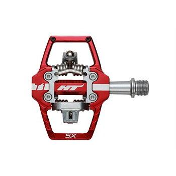 HT T1 SX BMX PEDAL RED