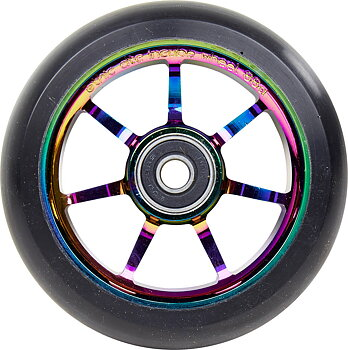 Ethic Incube Sparkcykel Hjul Komplett Färg: Rainbow 100mm