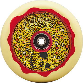 Chubby Melocore Sparkcykel Hjul Färg: Pizza V2