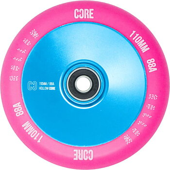 CORE Hollowcore V2 Sparkcykel Hjul Färg: Pink/Blue
