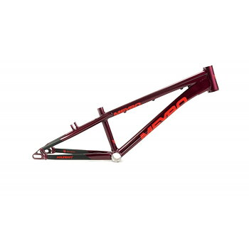 Meybo Holeshot 2021 BMX Race Frame Maroon/Red/Black