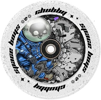 Chubby SpaceBoys Sparkcykel Hjul Färg: Astronaught