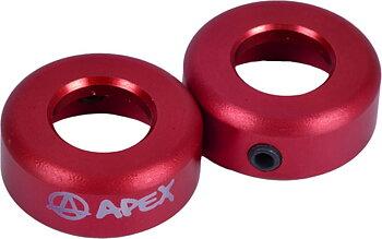 Apex Bar-ends -  Färg: Röd