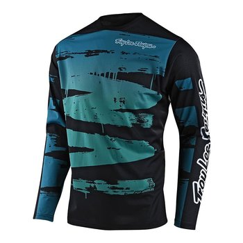 YOUTH SPRINT JERSEY BRUSHED : COLOUR: MARINE/TEAL