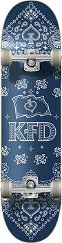"""KFD Bandana Komplett Skateboard -  Färg: Navy - Storlek: 7.75"""""""