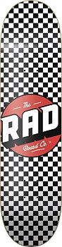 """RAD Checker Skateboard Bräda -  Färg: Svart/Vit - Storlek: 8"""""""