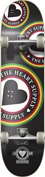 """Heart Supply Orbit Logo Komplett Skateboard -  Färg: Svart - Storlek: 7.75"""""""