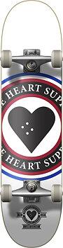 """Heart Supply Insignia Komplett Skateboard -  Färg: Vit - Storlek: 8.25"""""""