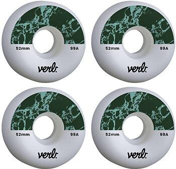 Verb Dip Skateboard Hjul 4-Pack -  Färg: Marbel Mint