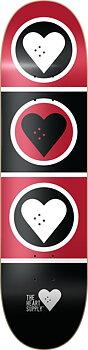 """Heart Supply Squad Skateboard Bräda -  Färg: Svart - Storlek: 8.375"""""""