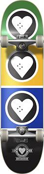 """Heart Supply Squad Komplett Skateboard -  Färg: Brazil - Storlek: 7.5"""""""