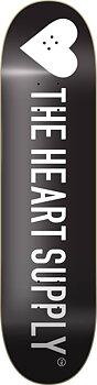 """Heart Supply Strong Skateboard Bräda -  Färg: Svart - Storlek: 8.25"""""""