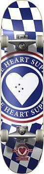 """Heart Supply Insignia Check Komplett Skateboard -  Färg: Blå - Storlek: 8"""""""