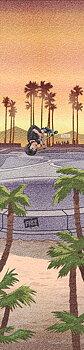 Figz XL Kickbike Griptape -  Färg: Kota In Cali