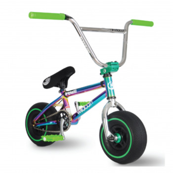 Wildcat Mini Bmx New Royal Green Disc