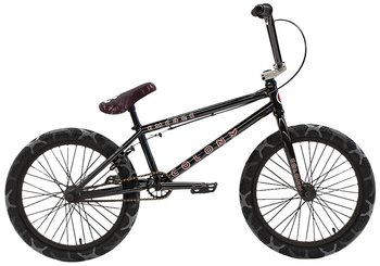 "Colony Emerge 20"" 2021 Freestyle BMX Cykel Färg: Gloss Black / Grey Camo Tyres"